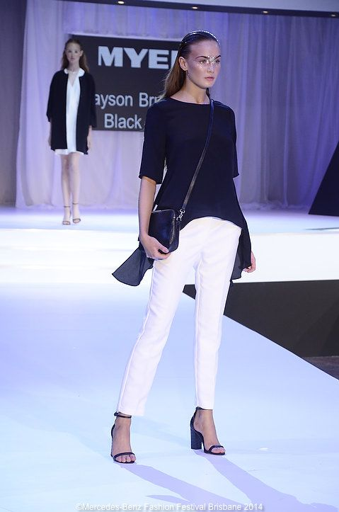 Jayson Brunsdon's Black Label has some perfect black and white pieces for spring.