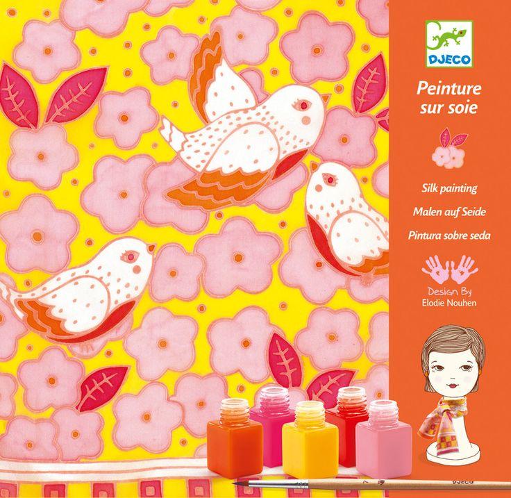 Djeco Sparrows Silk Printing