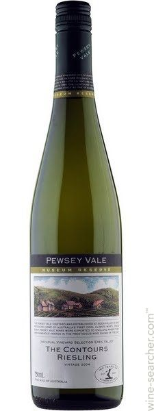 2004 Pewsey Vale The Contours Riesling Museum Reserve