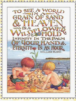 Heaven In A Wildflower Infinity In Palm Of Your Hand Magnet Mary Engelbreit Art