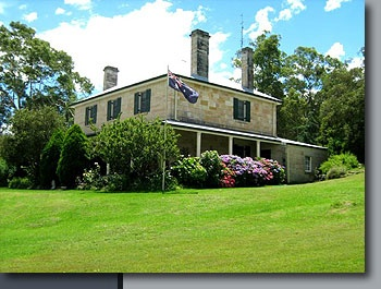 "National Trust Property Guide - ""Ryedale House"", Paterson Valley, New South Wales"