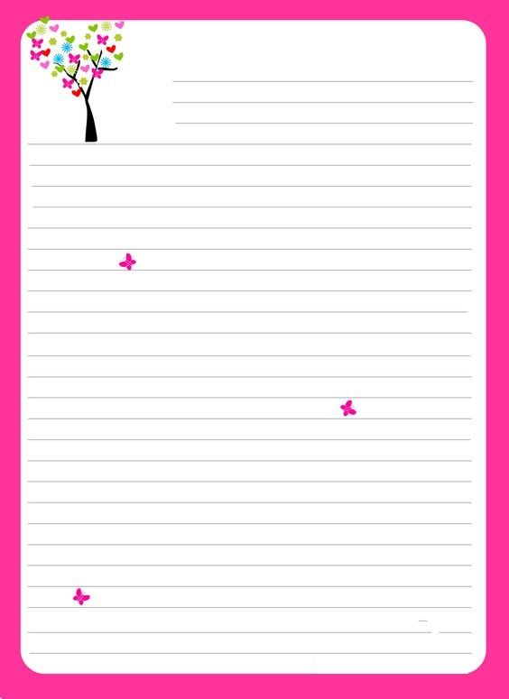 40 best Stationary images on Pinterest Tags, Decorative frames - color lined paper