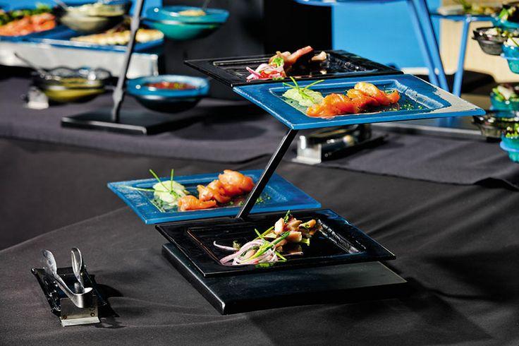 Medium square plates