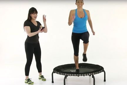 17 Best Ideas About Trampoline Workout On Pinterest Mini