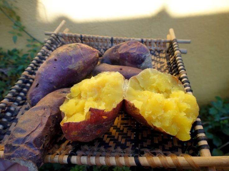 With a reddish brown root and yellow pulp, the sweet potato has its own characteristics derived from the area where it is grown, with the high season being the month of November.