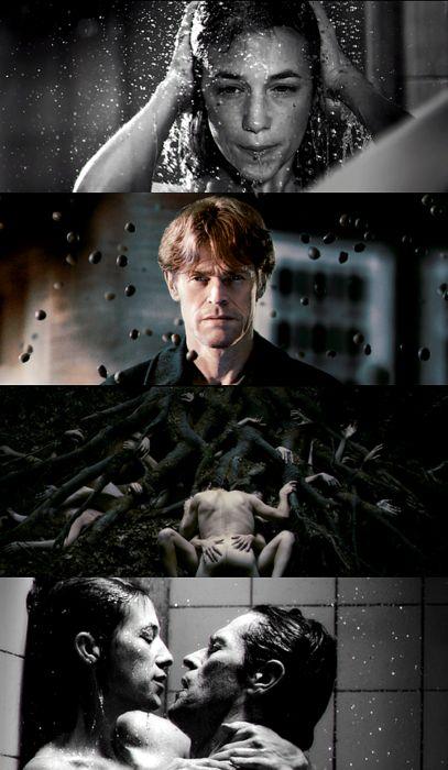 """Lars von Trier - Antichrist (2009) DOP: Anthony Dod Mantle el crítico de cine Luke Davies vio la película como """"una película triste, pero fascinante, que explora la culpa, dolor y muchas cosas además de ... que enfurecerá a tanta gente como le plazca"""", describiendo el «orden de la visión surrealista de von Trier"""", como """"verdaderamente excepcional""""."""
