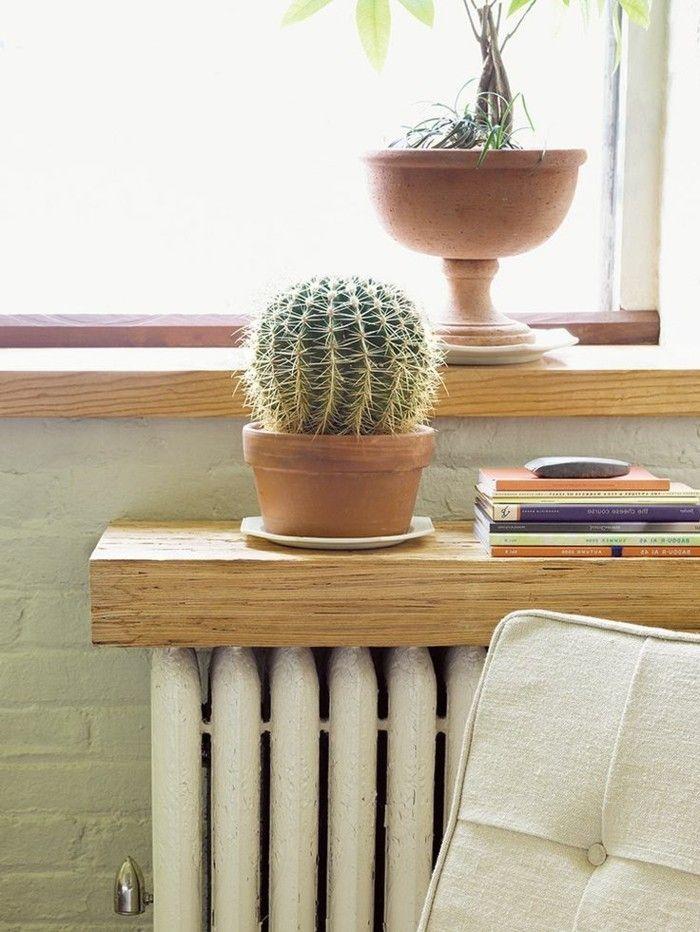 fabriquer un cache radiateur - meuble cache radiateur                                                                                                                                                                                 Plus