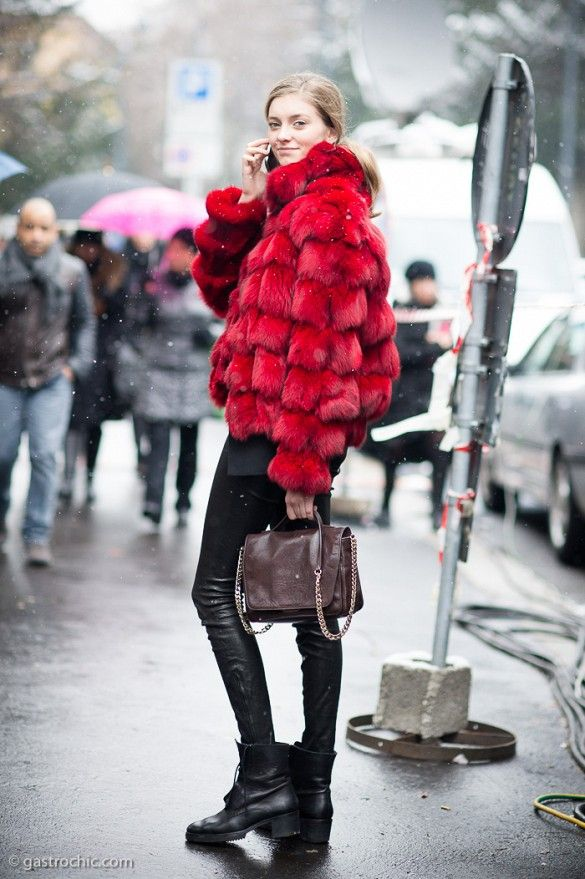 ***Stroking your own furry coat in public.*** 21 Things Only Fashion Girls Understand via @WhoWhatWear