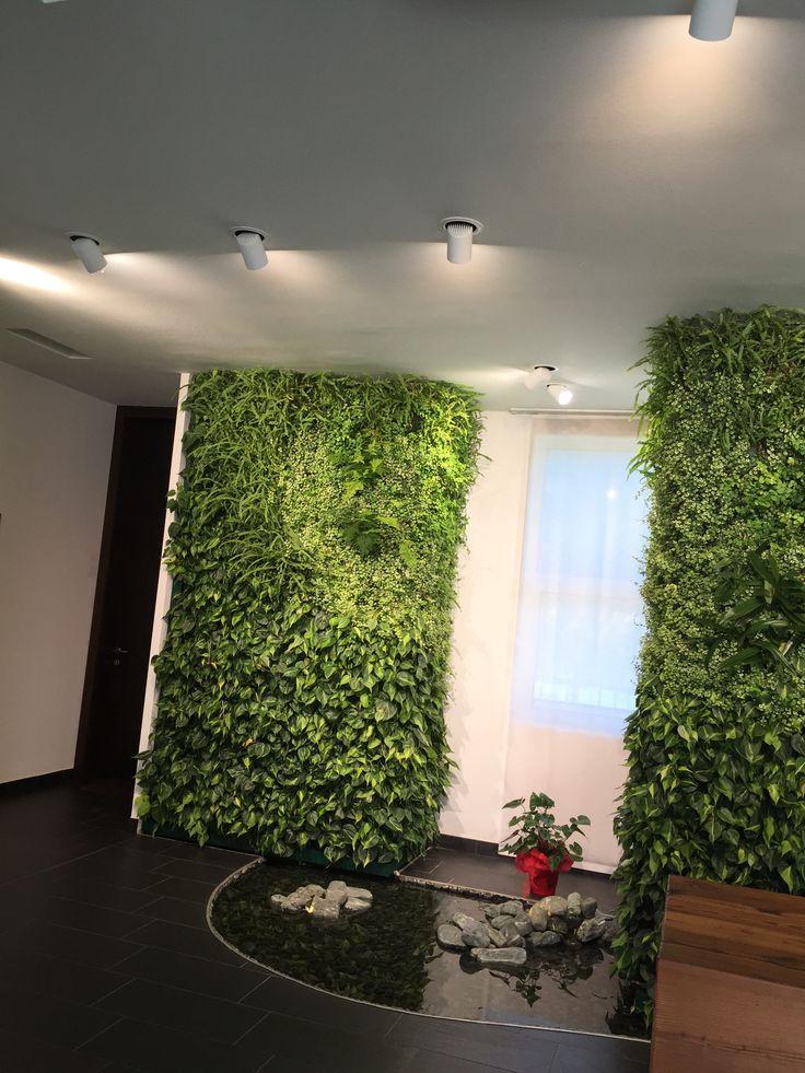 Oltre 25 fantastiche idee su giardino casalingo su pinterest giardino di ghiaia letti - Giardino verticale interno ...