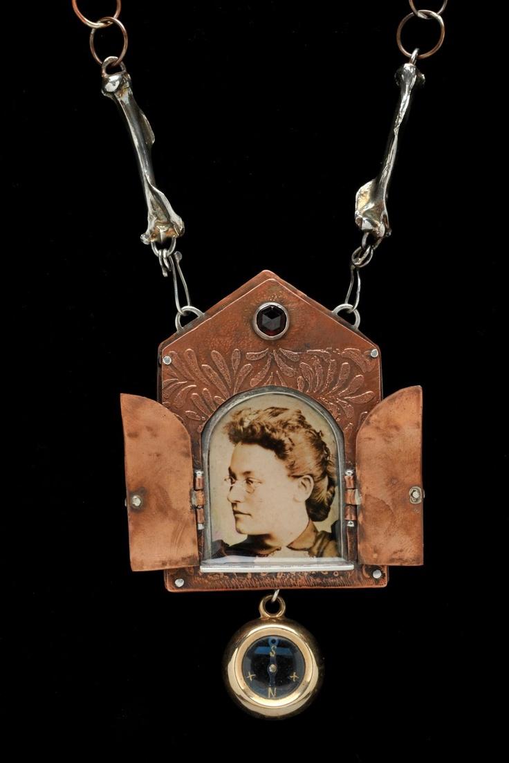 "Dana Stenson Jewelry and Metalwork. ""Georgia Helen Griffith"""