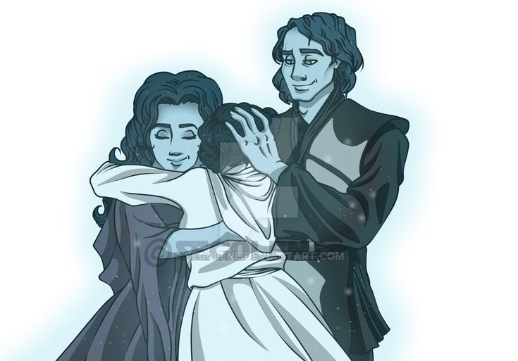 [SW] The Force is strong in our family by seg0lene This literally makes me cry!!!