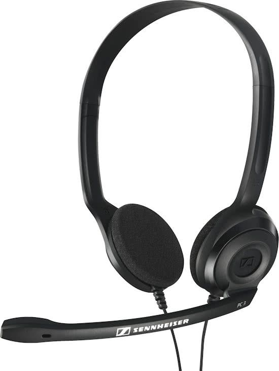 Sennheiser PC 3 Chat - On-ear headset - Zwart