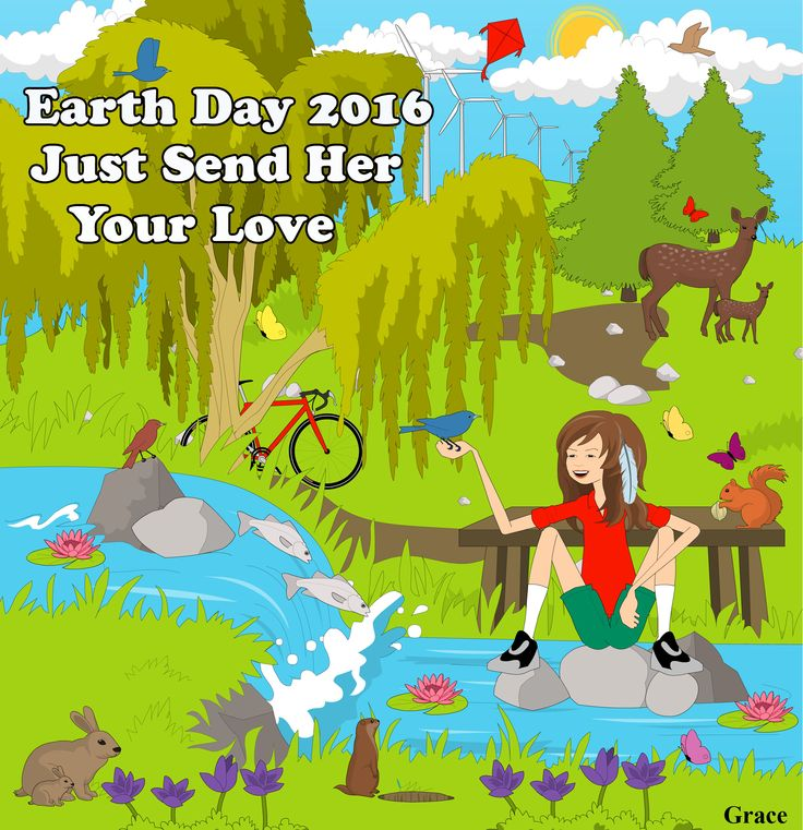 PIN IT and share with family and friends to remind them that April 22nd is EARTH DAY! It's our gift to you.