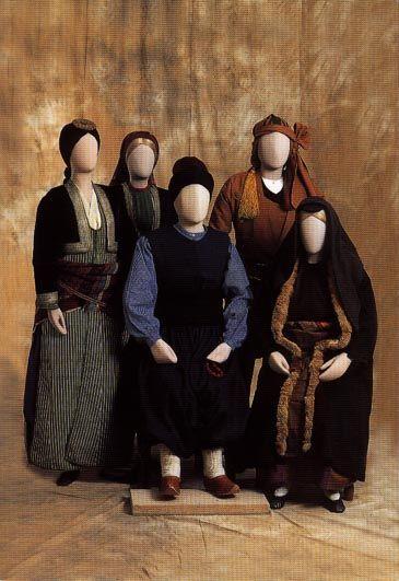 Pontian Folk Costumes..