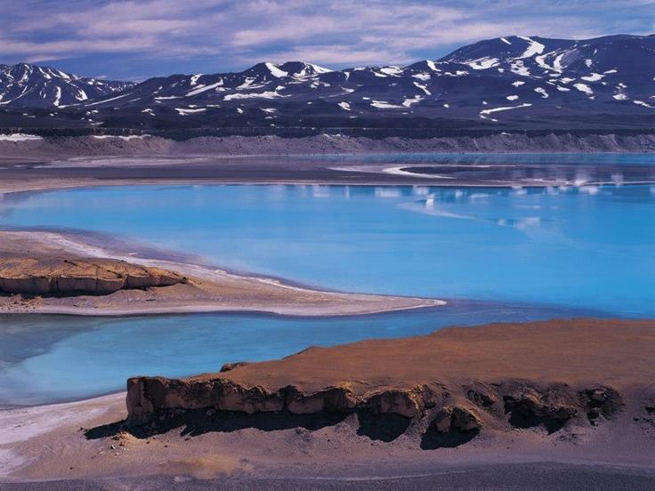 Laguna Verde, Desierto de Atacama, Chile