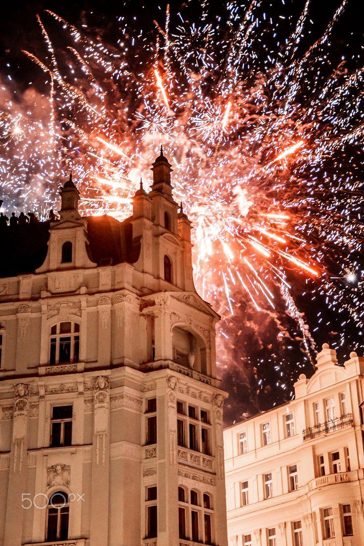 New Year in Prague - null