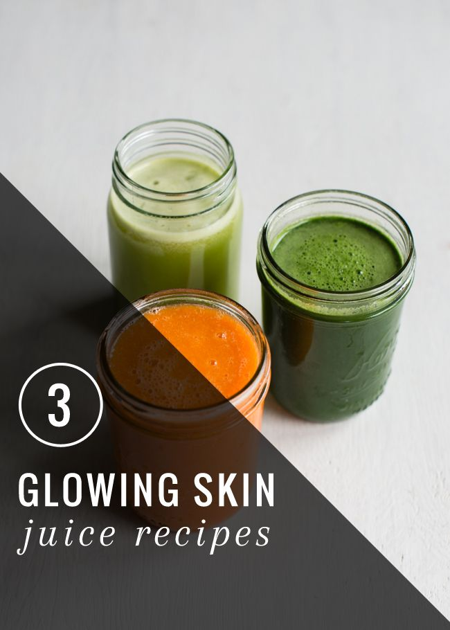 3 Juice Recipes For Great Skin | HenryHappened.com