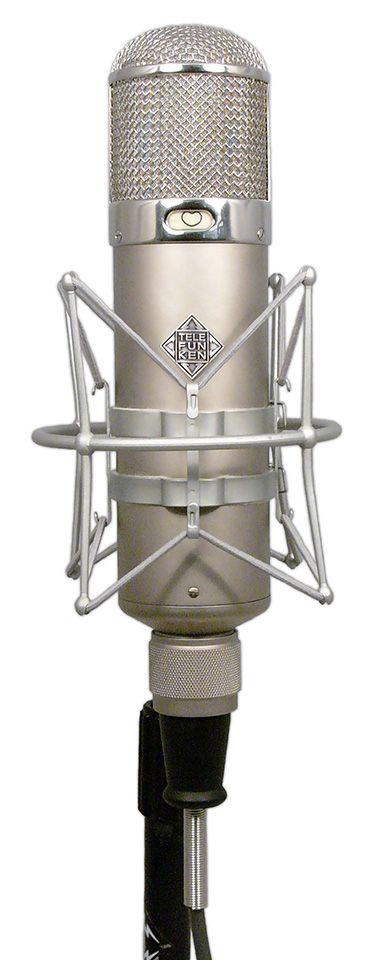 TELEFUNKEN U47 - honestly the best mic I've ever used...wish I owned it.