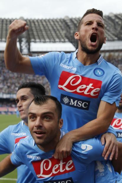 Pandev va a segno contro il Livorno.
