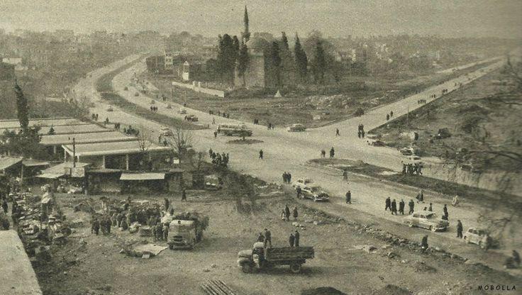 Babam doğduktan 10 yıl sonra. Aksaray / İstanbul 1958.