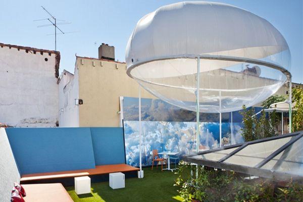 El Observatorio de Nubes : climatiser un bâtiment en le faisant transpirer