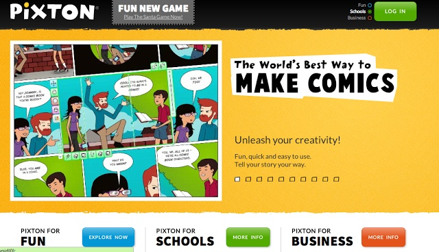Pixton is a comic book creator that can be used as a great tool to incorporate technology. Pixton also provides students with the opportunity to express their creativity.