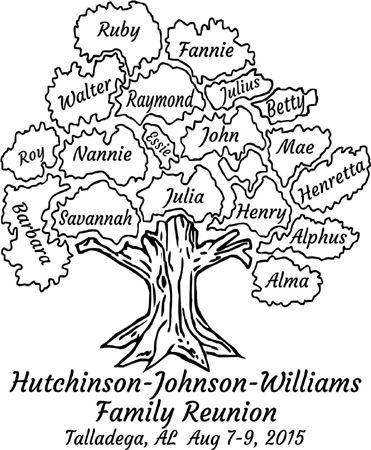 Hutchinson-Johnson-Williams Family Reunion #reuniontees #