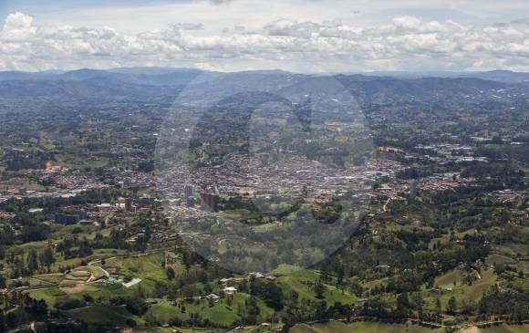 Panorámica del Valle de San Nicolás. El Oriente antioqueño busca conformar un área metropolitana. FOTO ARCHIVO (ESTEBAN VANEGAS)