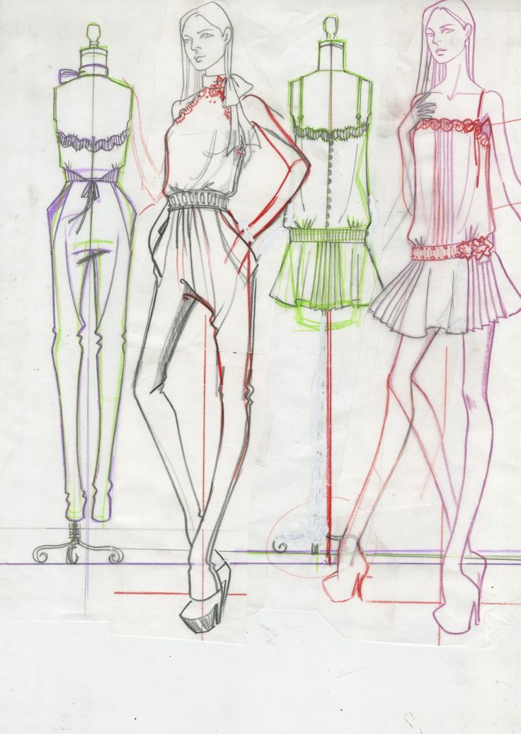 Fashion Sketches/Paul Keng