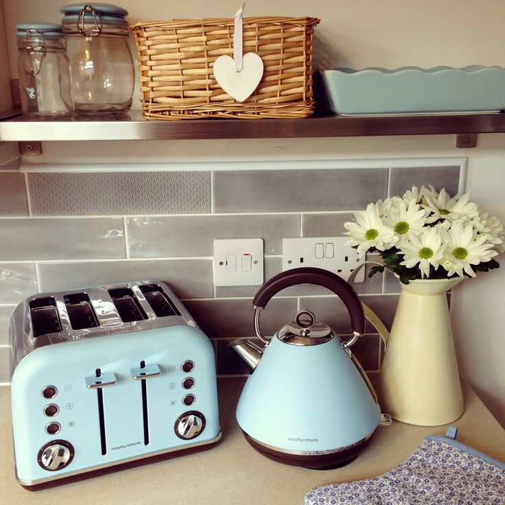 Shop the Accents Special Edition Collection at www.morphyrichards.co.uk  #pastel #interiors #kitchen #style #remodel