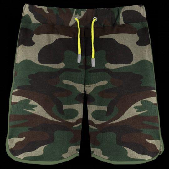 Pextex.cz - Pánské sportovní bermudy Combat PAYPER Camouflage/ Verde