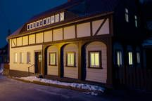 House in Waltersdorf, Germany. Cosy holiday home in the Zittauer Mountains! Treat yourself to this rest and relaxation in the Oberlausitz, be totaly relaxed in our vacation home. Come visit us in the Zittauer Mountains, and enjoy this charming cottage. Visit Prag and Dresden!  ...