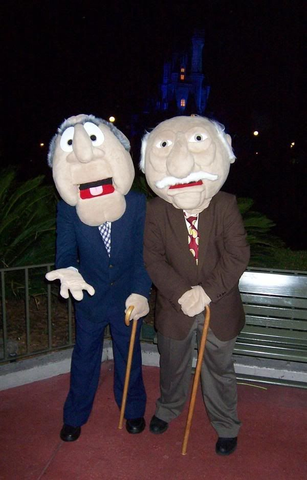 Muppets Statler and Waldorf (In process photos added)(Older costumes added) - CRAFTSTER CRAFT CHALLENGES