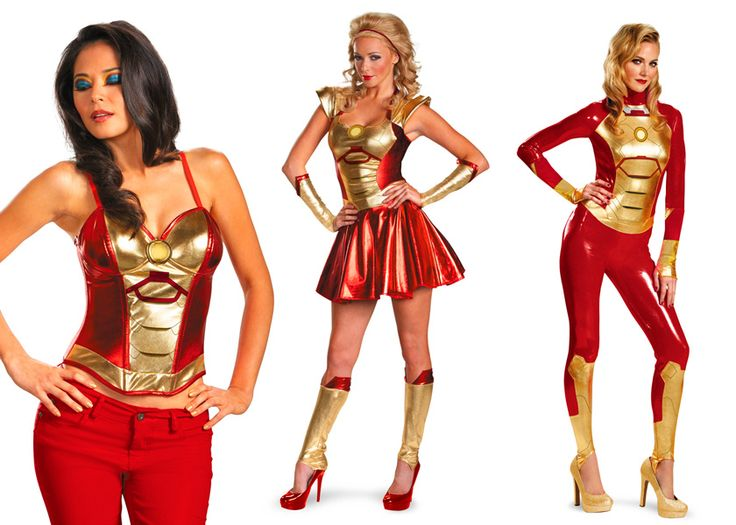 IRON MAN 3 - Officially Licensed Costumes are Cute, Cool, andSassy - News - GeekTyrant