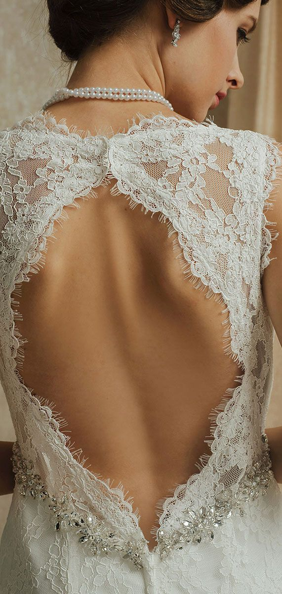 Robe mariee dentelle pres du corps