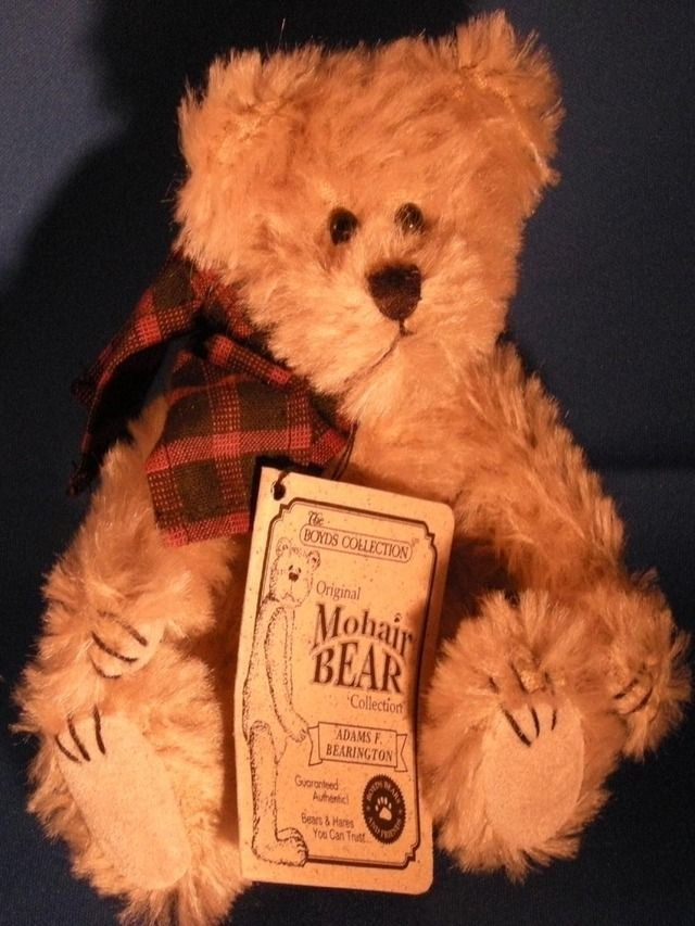 BOYDS BEARS MOHAIR BEAR COLLECTION STYLE # 590080-03 JOINTED