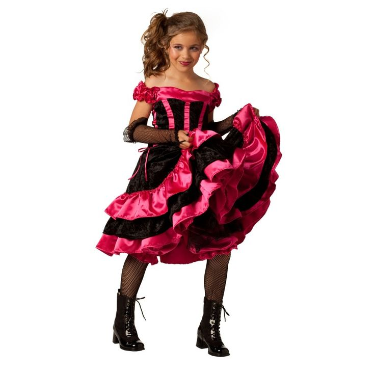 halloween costumes for tween girls that parents approve - Can Can Dancer Halloween Costume