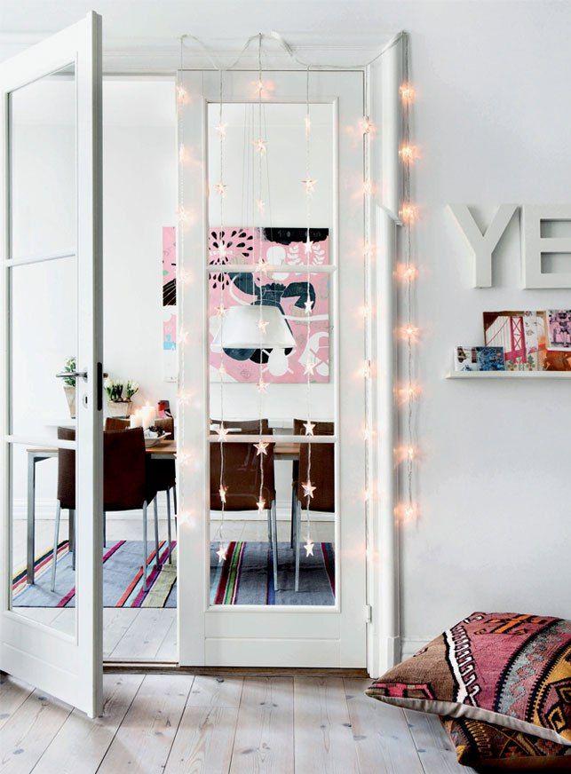 Post: Luces y guirnaldas en la decoración nórdica navideña --> blog decoración nórdica, decoración en blanco, decoración nordica navidad, el corte ingles luces navidad, estilismo navidad nordico, estilo nórdico escandinavo, guirnaldas de navidad, luces blancas cadenas guirnaldas, luces de navidad Más