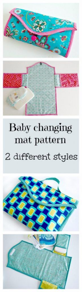 51 Things to Sew for Baby - Baby Changing Mat - Cool Gifts For Baby, Easy Things To Sew And Sell, Quick Things To Sew For Baby, Easy Baby Sewing Projects For Beginners, Baby Items To Sew And Sell http://diyjoy.com/sewing-projects-for-baby