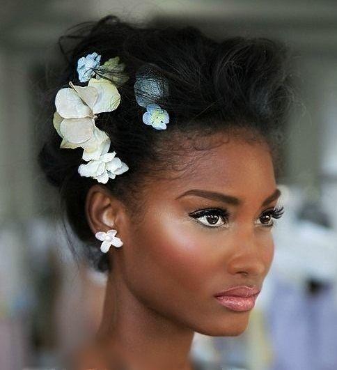 bridal afro makeup