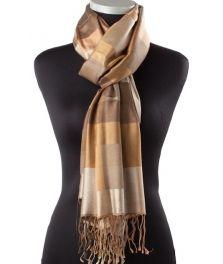 Lundorf Lea scarf 100 % pure silk 190x75 cm