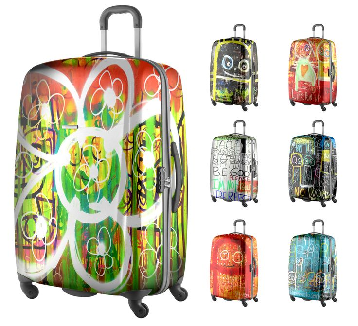 - Poul Pava suitcases. Made by BJÖRKLUND label & emballage design.