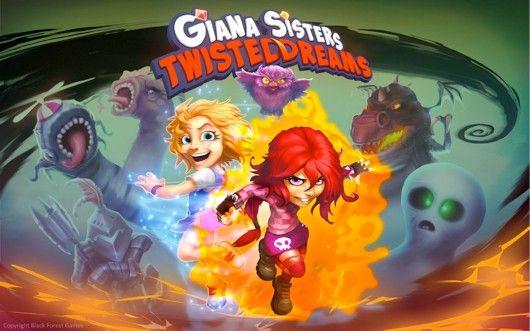Giana Sisters - game on Wii U estore