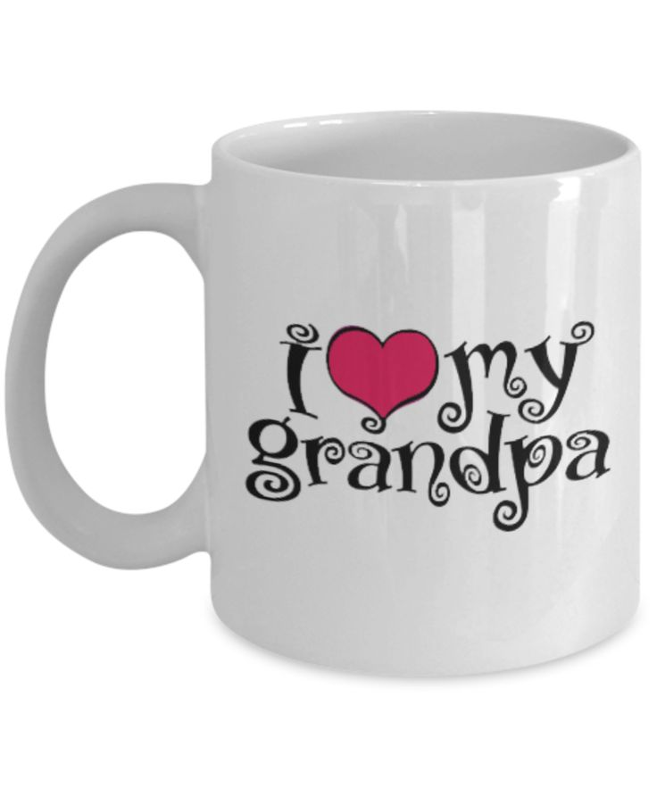 Senior Citizen Mug I Love My Grandpa New Grandparent Gifts Mugs For Women Citizens Gift Seniors Basket Men Ideas Best Funny Birthday Gag Mothers Day 2017 A Fun useful Male Christian Woman
