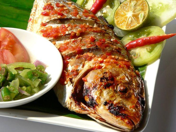 Tude bakar rica (fish)
