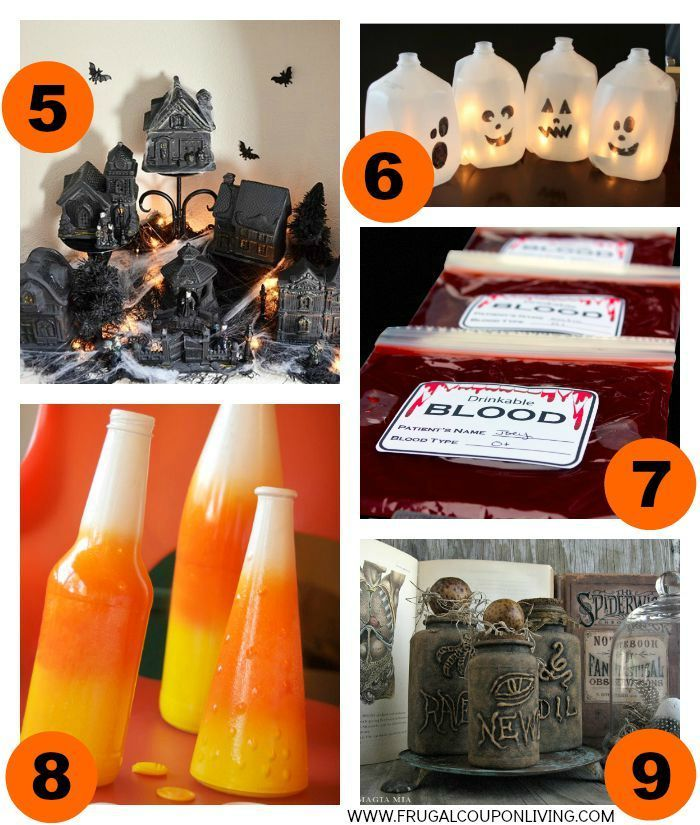 Best 25 milk jug ghosts ideas that you will like on pinterest for 5 minute halloween decorations
