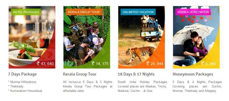 Kerala Tours/Holidays