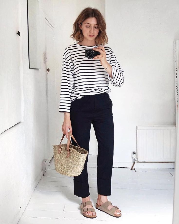 Le Fashion: 5 Casual-Cool Ways to Wear a Striped T…