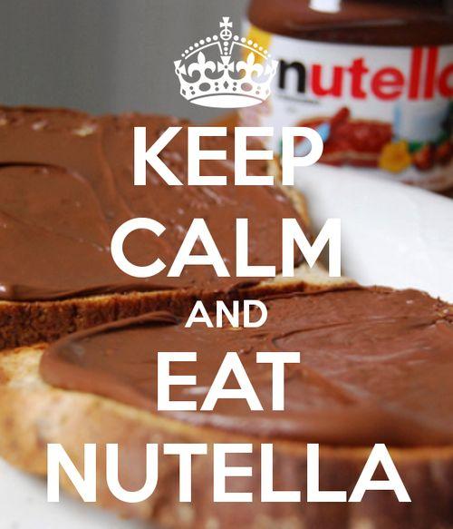 Keep calm - Nutella addicted