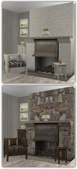 22 best Sims 2 - Fireplaces & Water Features images on Pinterest ...